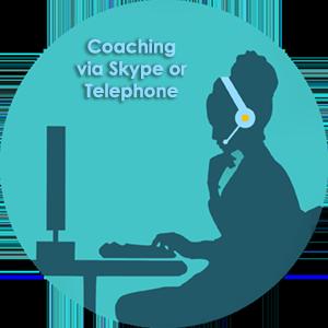 Live coaching via Skype or telephone