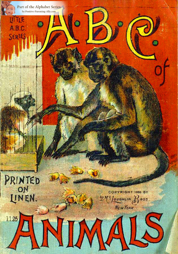 ABC of Animals from 1899
