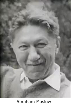 Portrait of a smiling Abraham Maslow