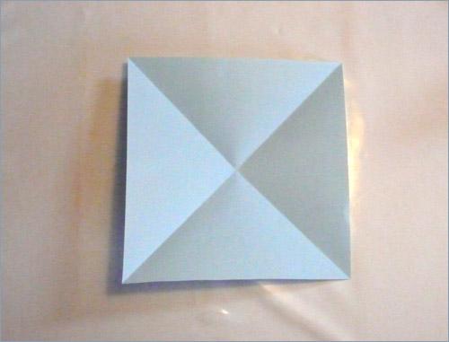 Origami fortune teller step 2