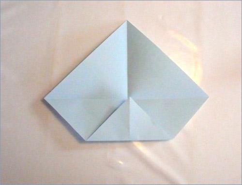 Origami fortune teller step 3