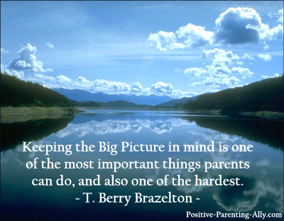 Parenting with big picture in mind by Brazelton