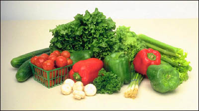 Buy groceries e.g. vegetables with Monopoly money when cooking in the kitchen.