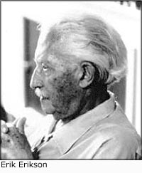 Erik Erikson and child development stages.