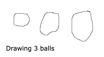 Elementary math games: Counting and drawing balls