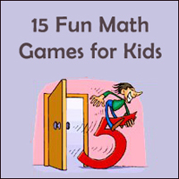 Fun math games for kids.