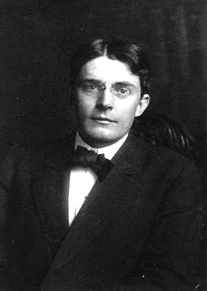Portrait of a young John Broadus Watson
