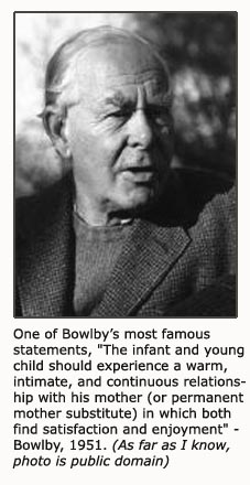 Portrait or photo of John Bowlby - The Father of Attachment Theory