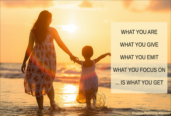 Understanding the law of attraction; what you are, is what you get.