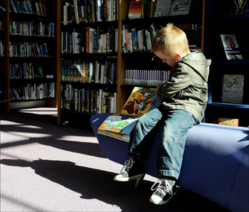Fun kids activities: A trip to the local library.