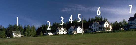 Turn a car ride into math for kids by making them count the houses near the road.