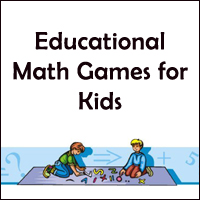 Math games for kids.