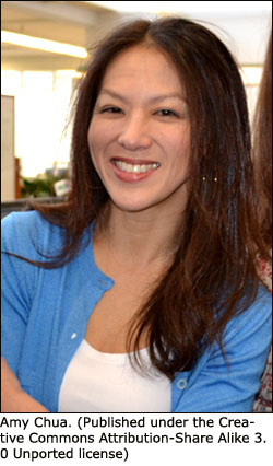 Tiger Mom Amy Chua as a supporter of authoritarian parenting.