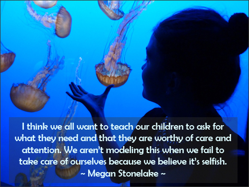 Parenting quote about taking care of oneself.