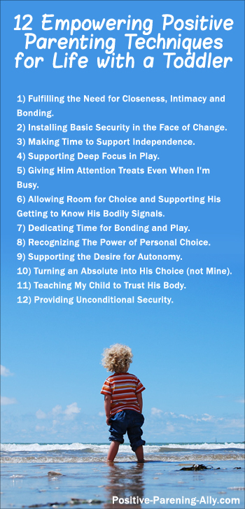 12 empowering positive parenting techniques for life with a toddler.