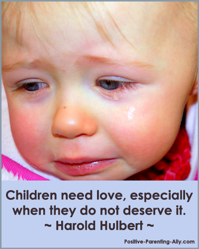 Harold Hulbert quote on love and children.