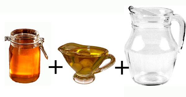 science fair projects for kids about mixing solutions: honey, oil and water mix.