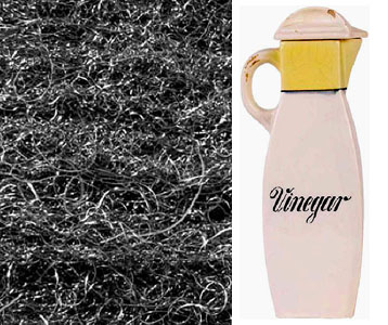 fun science projects for kids with vinegar and steel wool.