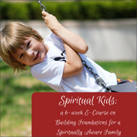 Spiritual courses: e-course for spiritually aware parents and their kids.