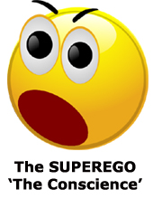 The superego as the conscience.