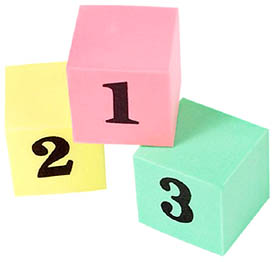 Toddler toys with numbers: Toddler learning games.