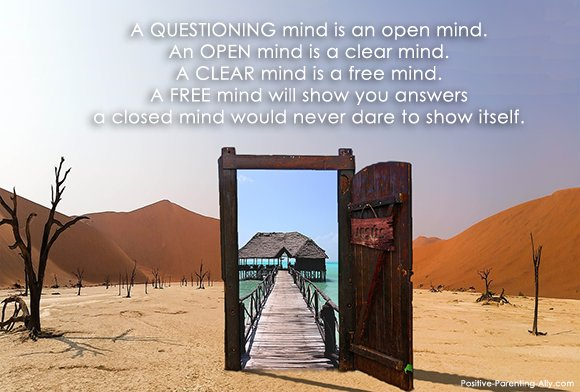 A free mind takes nothing for granted: Doorway to the sea in the middle of the desert.