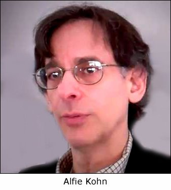 Close-up photo of Alfie Kohn