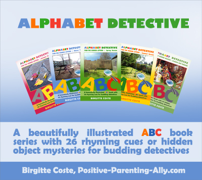 The Alphabet Detective Series from Positive Parenting Ally: an interactive alphabet books series