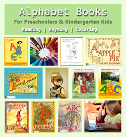 Alphabet books from Positive Parenting Ally.