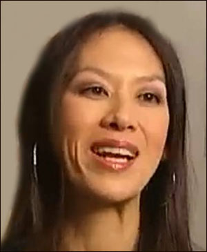 Photo of smiling Amy Chua