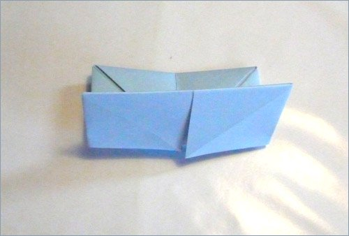 Origami fortune teller step 5 in paper crafts for kids