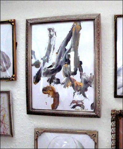 Modern art for kids. Abstract kids art.
