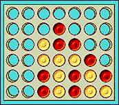 Connect Four is a great game to teach your kids math skills and logic.