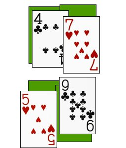 fun math games with cards - playing multiplication war