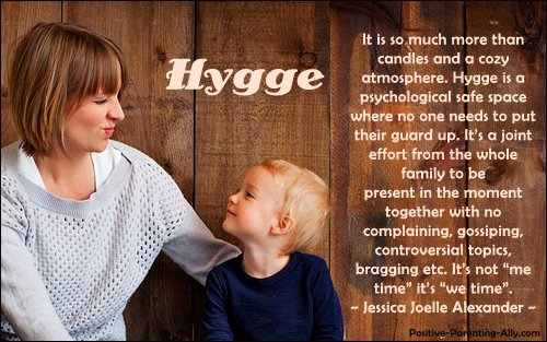 Danish hygge is we-fullness, we time, not me time. Jessica Joelle Alexander.