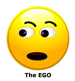 The ego as smiley