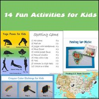 Fun activities for kids.