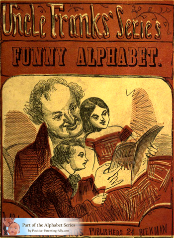 Funny Alphabet from 1850.