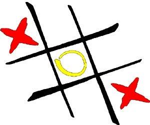 Fun brain games for kids: Playing tic tac toe