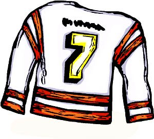 Use football jerseys with numbers and multiply them.