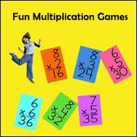 Multiplication math games.