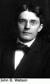 Behaviorist parenting expert: John B. Watson