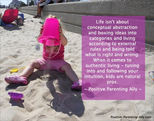 Parenting quote on reversing the student teacher relationship and seeing kids as the experts on life lived.