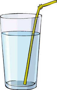 How water makes a straw look bended - fun science experiments for kids