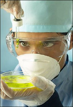 Science protection and safety: Always wear goggles, gloves etc. when doing more 'risky' science experiments.