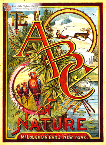 The ABC of Nature from 1884.