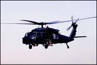 Picture of a blackhawk.