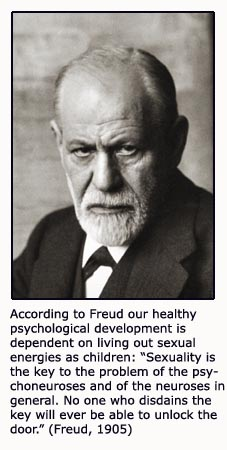 Sigmund Freud quote on psychological child development
