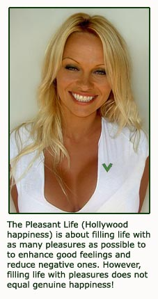 The pleasant life - Hollywood happiness, Pamela Anderson