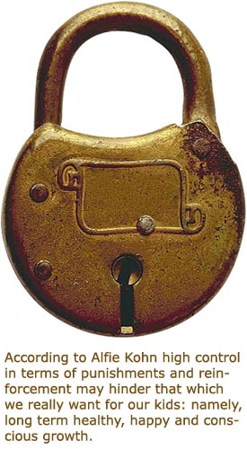 Photo of an old lock representing control.